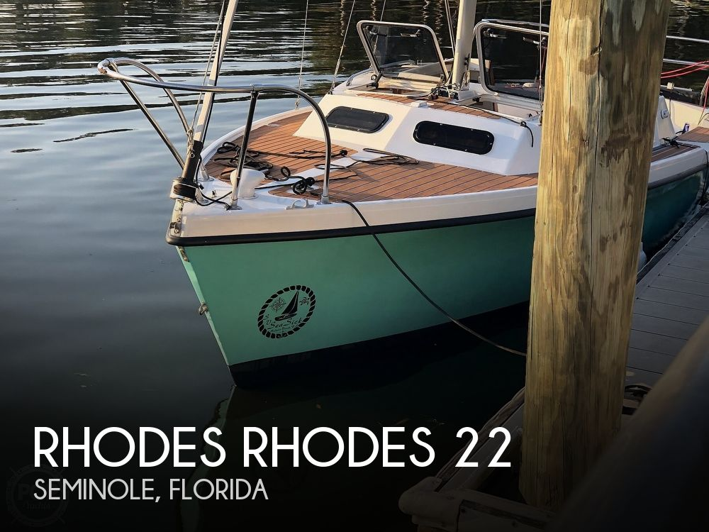 1993 Rhodes boat for sale, model of the boat is Rhodes 22 & Image # 1 of 40