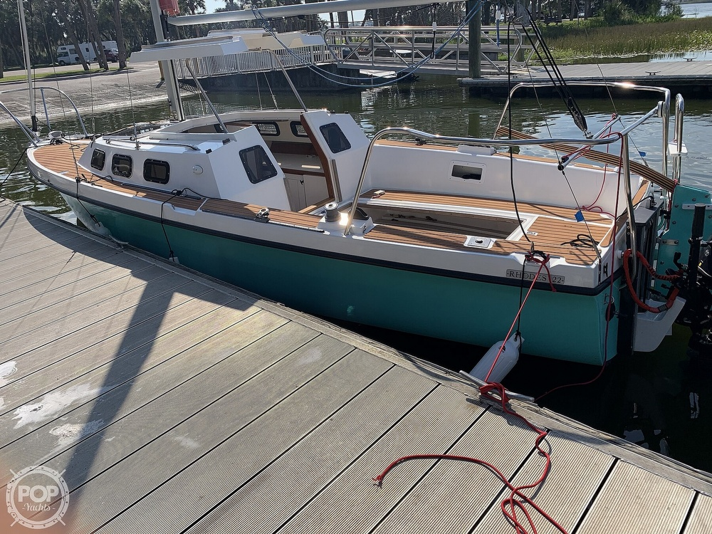 1993 Rhodes boat for sale, model of the boat is Rhodes 22 & Image # 6 of 40
