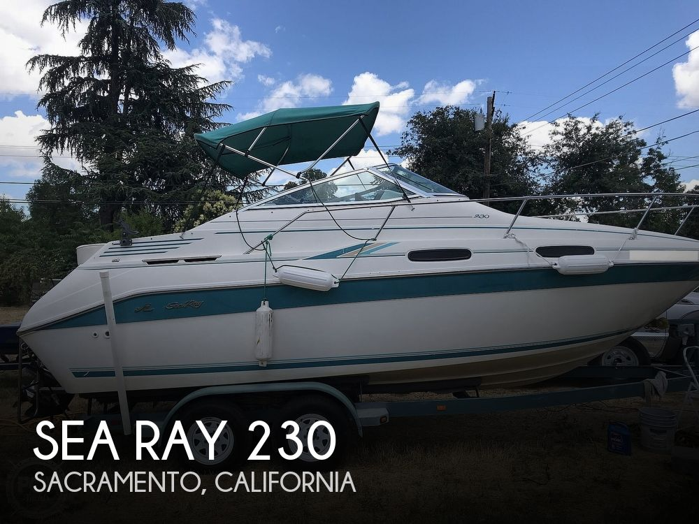 1995 Sea Ray boat for sale, model of the boat is 230 Sundancer & Image # 1 of 41