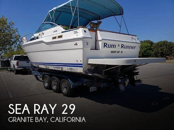 1989 29 foot Sea Ray  - image 1