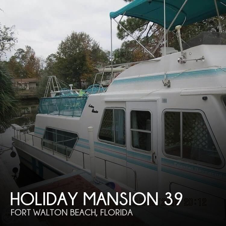 Used Holiday Mansion Houseboats For Sale by owner | 1996 Holiday Mansion 39