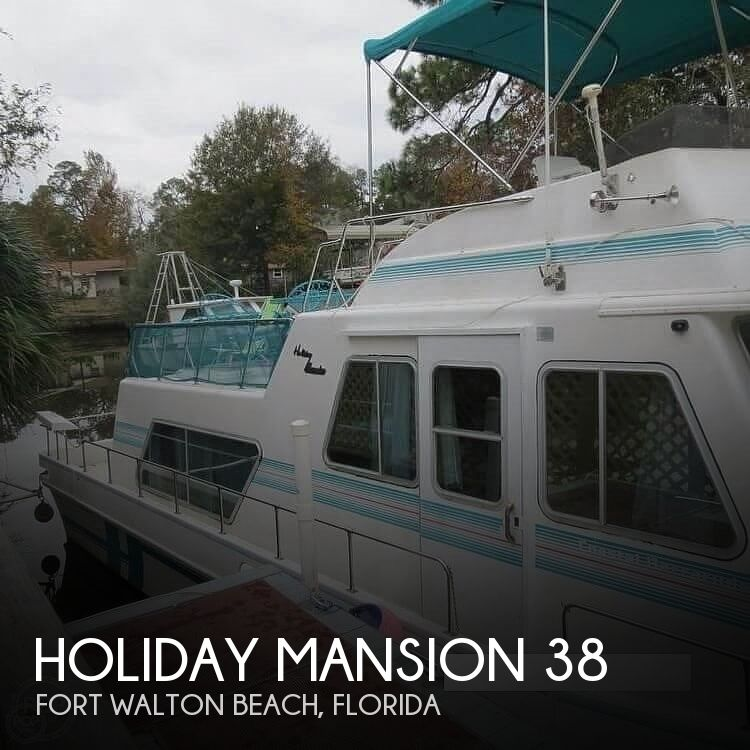 1996 HOLIDAY MANSION COASTAL BARRACUDA 38 for sale