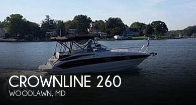 Used Boats For Sale in Hagerstown, Maryland by owner | 2012 Crownline 260