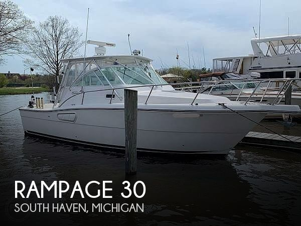 Used Boats For Sale in Grand Rapids, Michigan by owner | 2004 Rampage 30