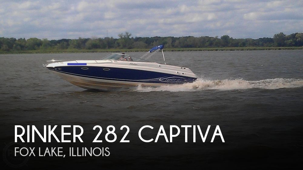 Used Boats For Sale in Milwaukee, Wisconsin by owner | 2005 Rinker 282 Captiva