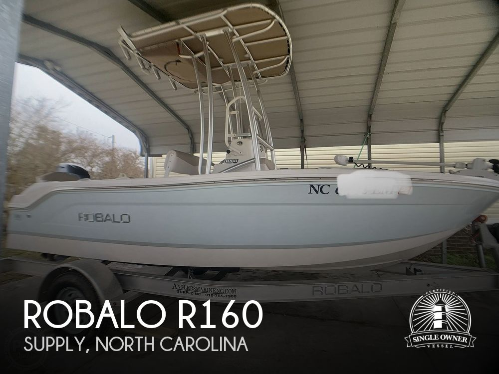 2019 Robalo boat for sale, model of the boat is R160 & Image # 1 of 40