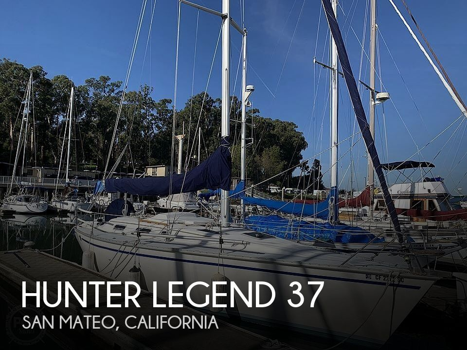 Used Boats For Sale in Santa Cruz, California by owner | 1989 Hunter Legend 37