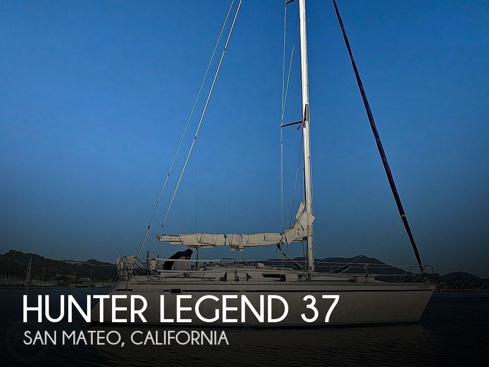 1989 Hunter boat for sale, model of the boat is Legend 37 & Image # 1 of 40
