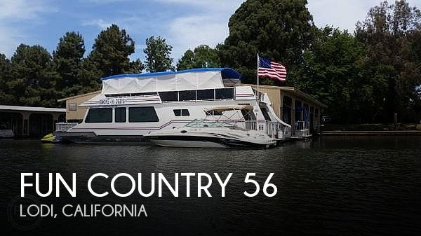 Used Boats For Sale in Vallejo, California by owner | 1998 Fun Country 56