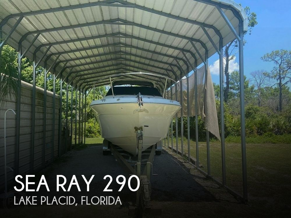 1998 Sea Ray boat for sale, model of the boat is 290 Sundancer & Image # 1 of 41