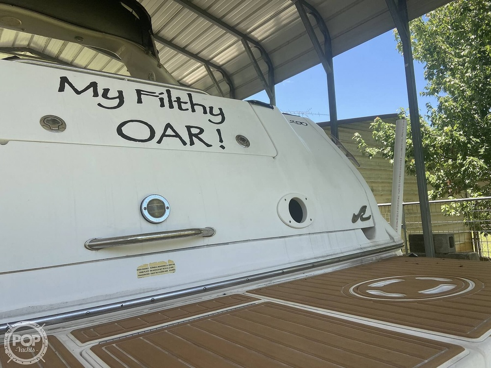 1998 Sea Ray boat for sale, model of the boat is 290 Sundancer & Image # 24 of 41