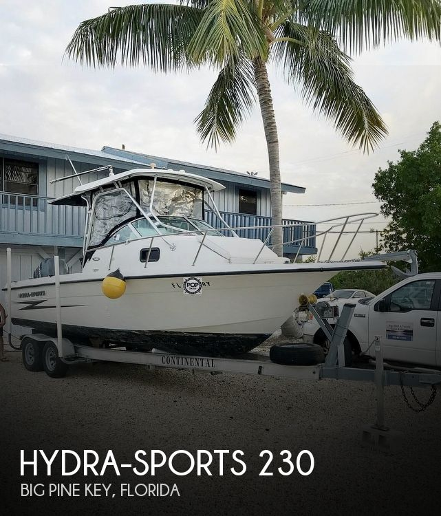 2001 HYDRA SPORTS SEAHORSE 230 for sale