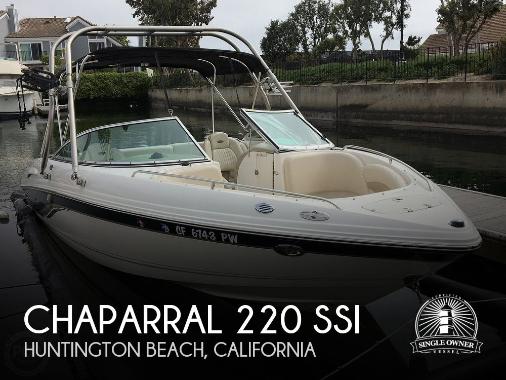 Used Chaparral Boats For Sale in California by owner | 2003 Chaparral 220 SSi