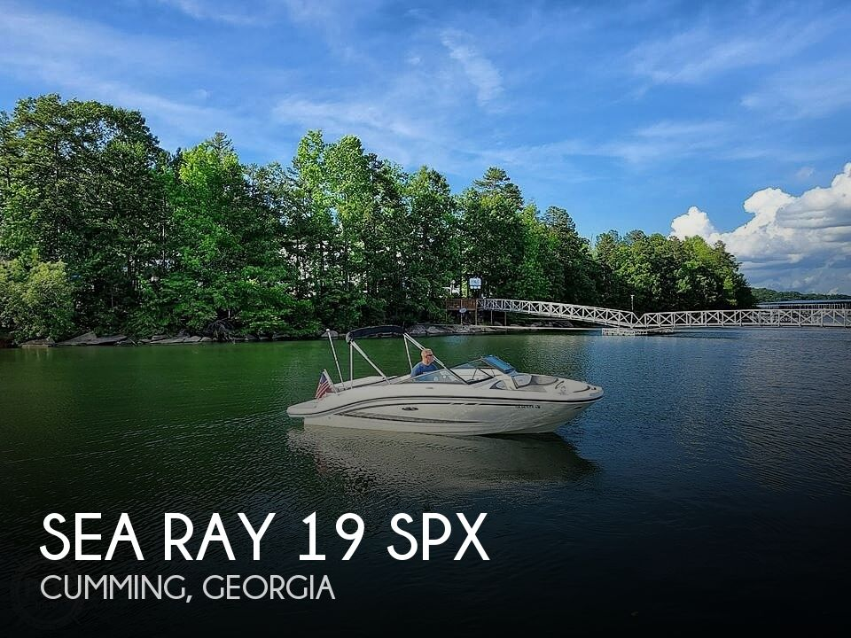 Used Sea Ray Boats For Sale in Georgia by owner | 2017 Sea Ray 19 Spx
