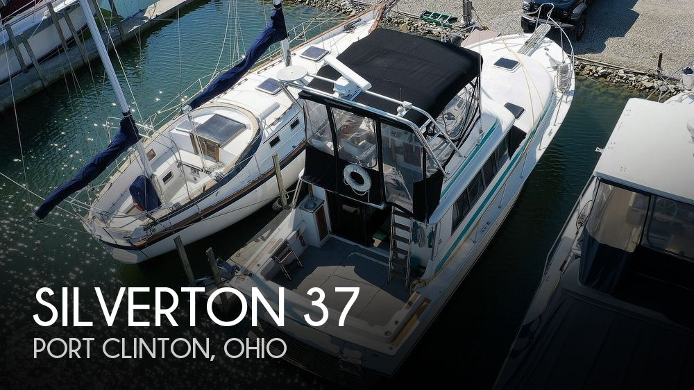 1981 SILVERTON 37 CONVERTIBLE for sale