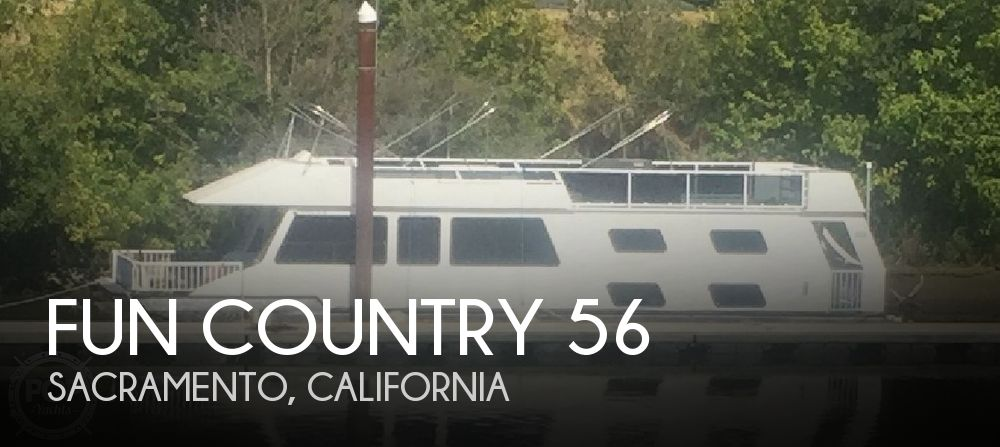 Used Houseboats For Sale in California by owner | 1995 Fun Country 56