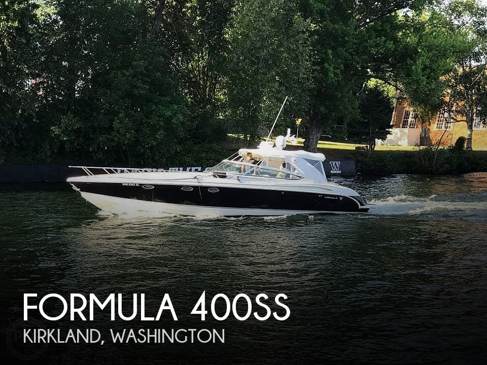 Used Boats For Sale in Washington by owner | 2005 Formula 400SS