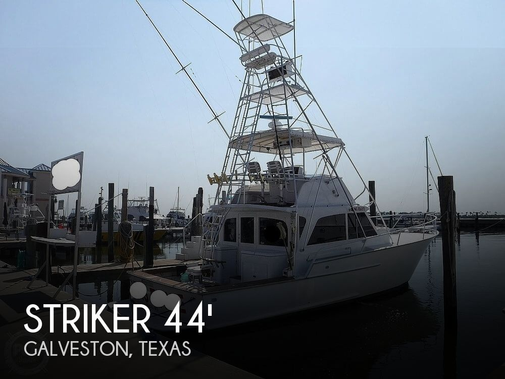 Used Striker Boats For Sale by owner | 1972 Striker 44 FLYBRIDGE SF