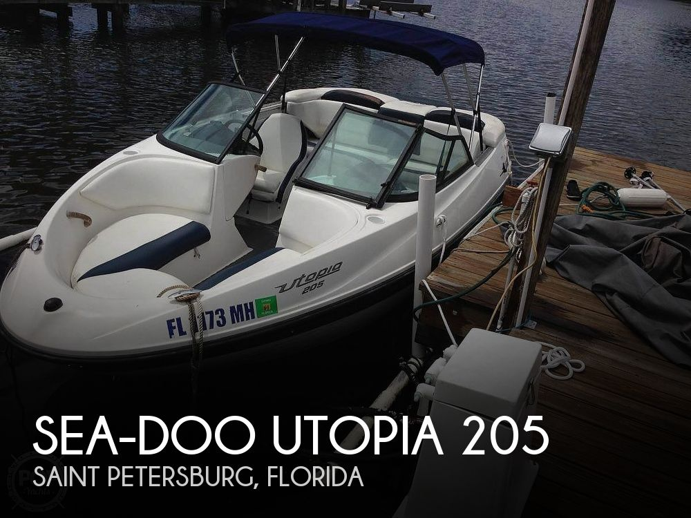Used Ski Boats For Sale by owner | 2003 Sea-Doo Utopia 205