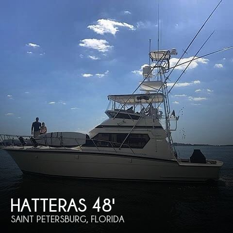 Used Boats For Sale in Lakeland, Florida by owner | 1988 Hatteras 48 Convertible