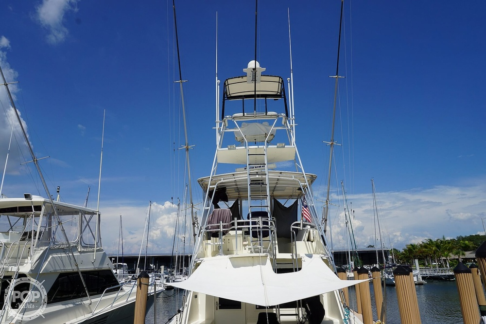1988 Hatteras boat for sale, model of the boat is 48 Convertible & Image # 5 of 40
