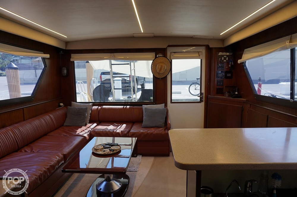 1988 Hatteras boat for sale, model of the boat is 48 Convertible & Image # 2 of 40