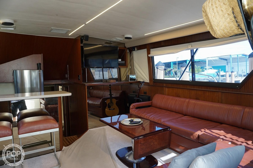 1988 Hatteras boat for sale, model of the boat is 48 Convertible & Image # 26 of 40
