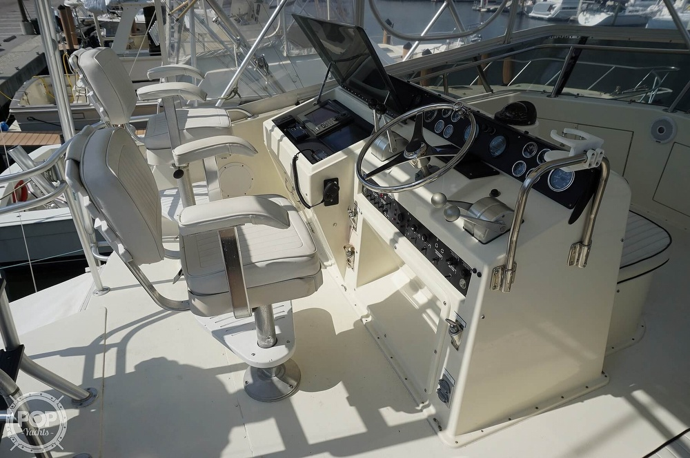 1988 Hatteras boat for sale, model of the boat is 48 Convertible & Image # 28 of 40