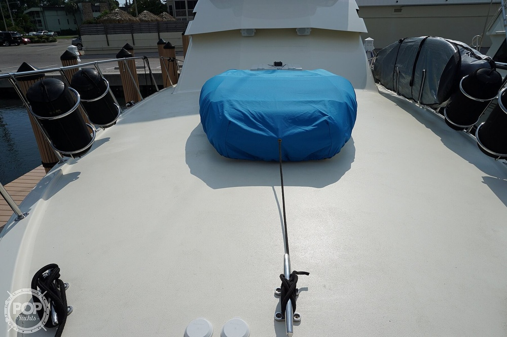 1988 Hatteras boat for sale, model of the boat is 48 Convertible & Image # 30 of 40