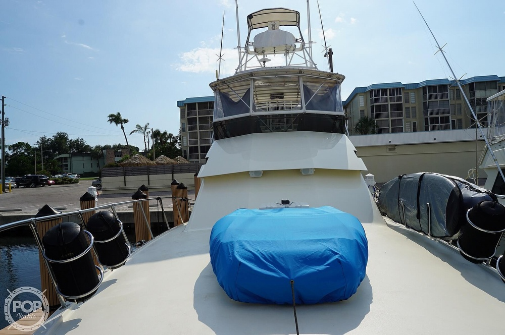 1988 Hatteras boat for sale, model of the boat is 48 Convertible & Image # 31 of 40