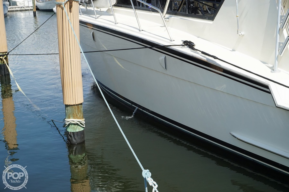 1988 Hatteras boat for sale, model of the boat is 48 Convertible & Image # 36 of 40