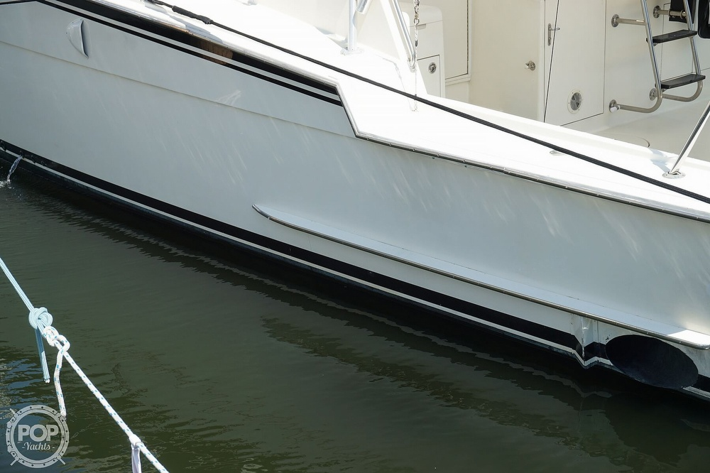 1988 Hatteras boat for sale, model of the boat is 48 Convertible & Image # 37 of 40
