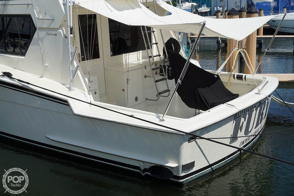 1988 Hatteras boat for sale, model of the boat is 48 Convertible & Image # 39 of 40