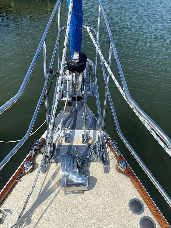 1973 Bristol boat for sale, model of the boat is 35 & Image # 2 of 14
