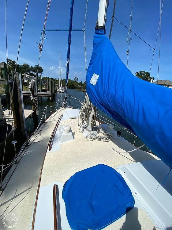1973 Bristol boat for sale, model of the boat is 35 & Image # 3 of 14