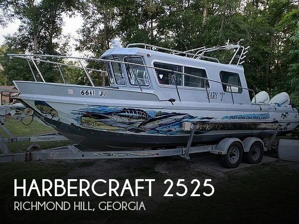 Used Boats For Sale in Savannah, Georgia by owner | 2006 Harbercraft King Fisher 2525