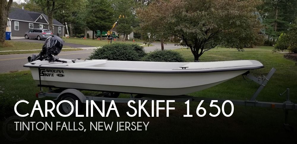 2015 Carolina Skiff boat for sale, model of the boat is J1650 & Image # 1 of 9