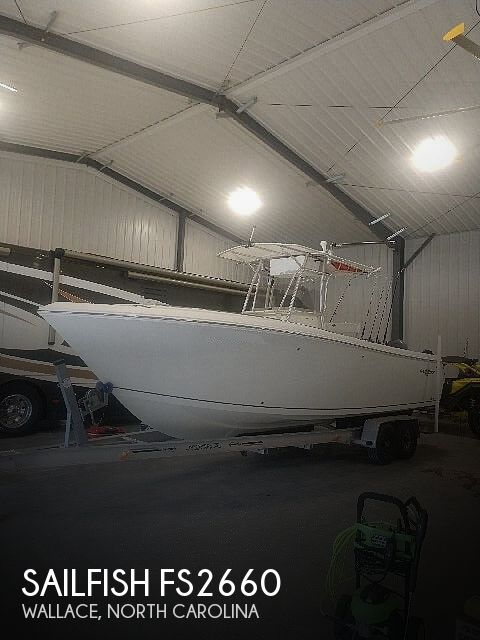 Used Sailfish Boats For Sale by owner | 2006 Sailfish FS2660