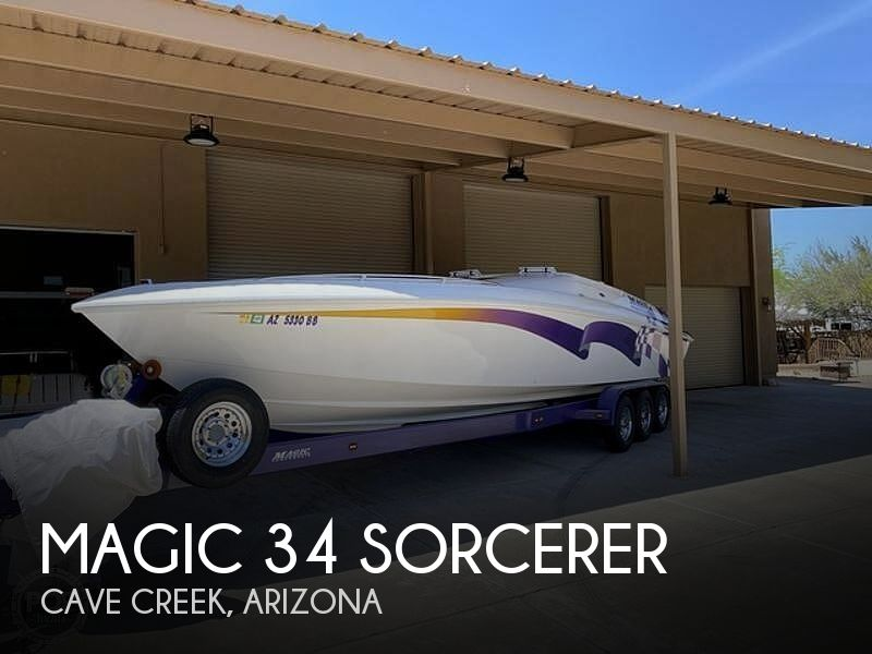 Used Boats For Sale in Phoenix, Arizona by owner | 1999 Magic 34 Sorcerer