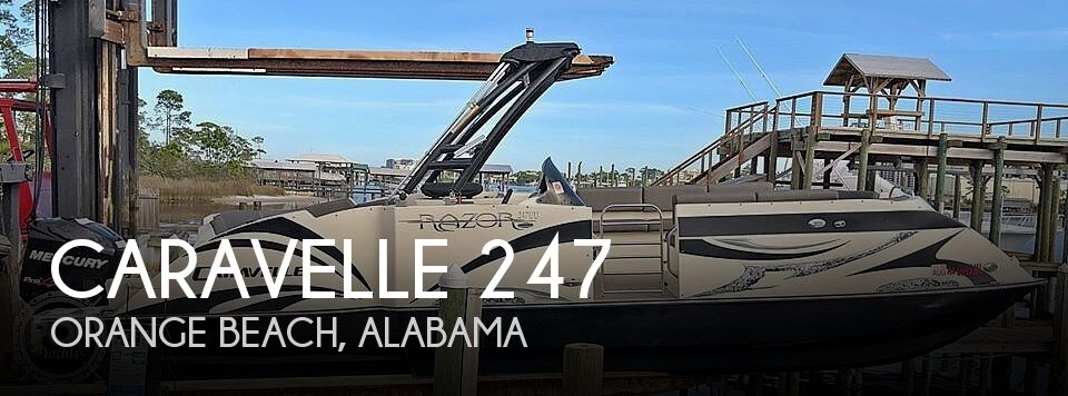 Used Pontoon Boats For Sale in Alabama by owner | 2015 Caravelle Razor Ur-247