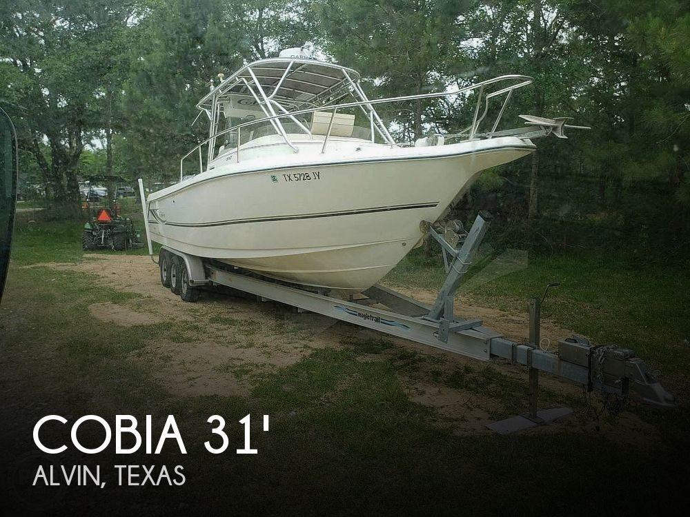 Used Cobia Boats For Sale by owner | 2003 Cobia 312 SPORT CABIN