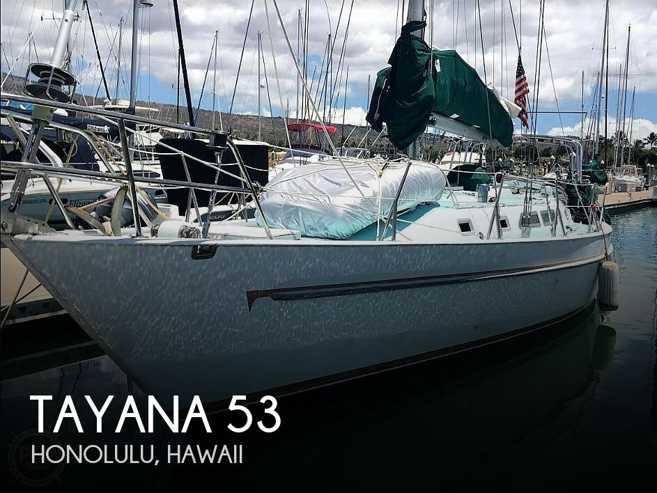 Used Boats For Sale in Hawaii by owner | 1983 Tayana 53 Aft Cockpit