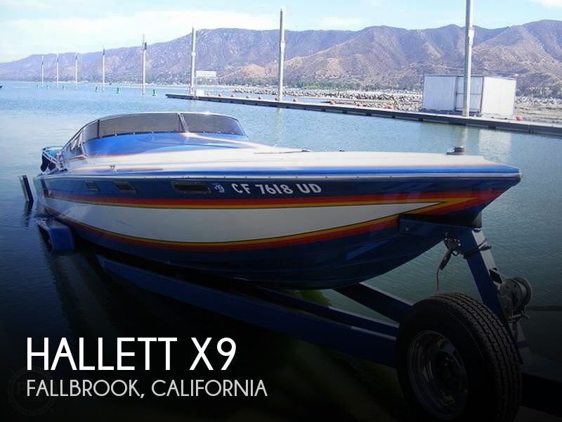 Used Hallett Boats For Sale by owner   1986 Hallett X9