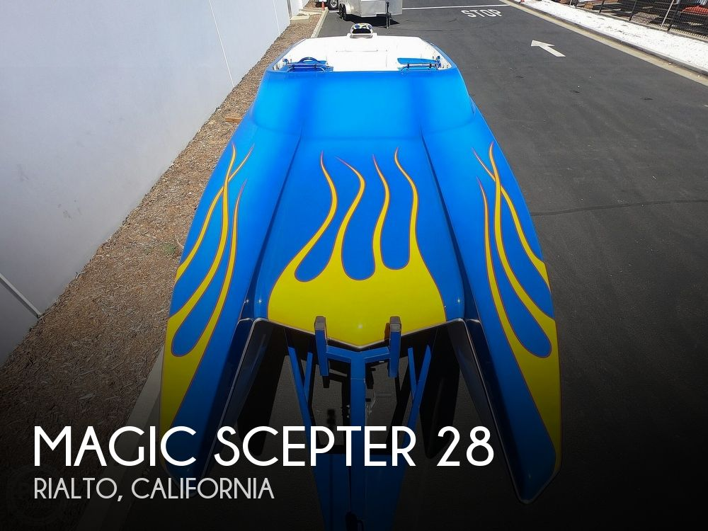2002 Magic boat for sale, model of the boat is Scepter 28 & Image # 1 of 40