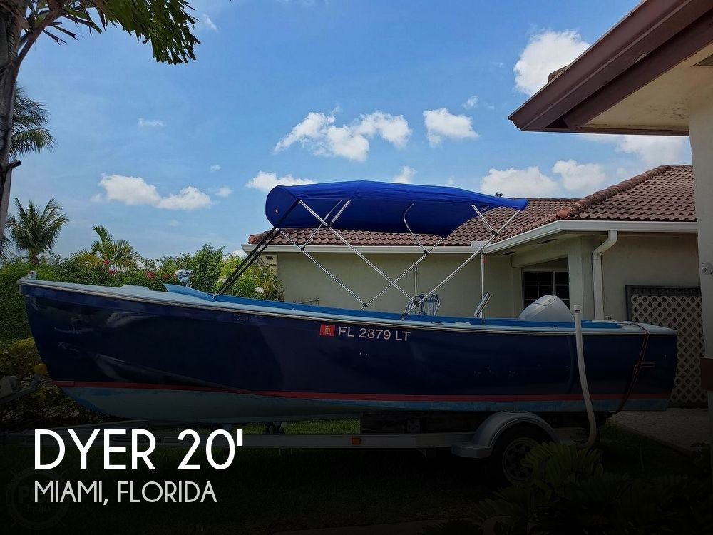Used Dyer Boats For Sale by owner | 1957 Dyer 19.5 Glamour girl