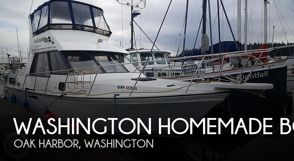 Used Motoryachts For Sale in Washington by owner | 1990 Washington Homemade Boats Canfor Wave Runner 37'
