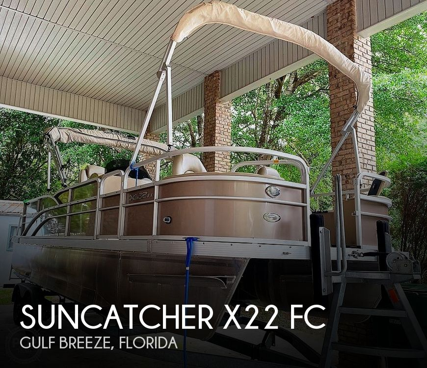Used Pontoon Boats For Sale in Florida by owner | 2014 SunCatcher X22 FC