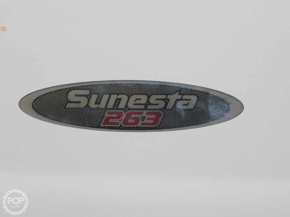 2003 Chaparral boat for sale, model of the boat is Sunesta 263 & Image # 33 of 40