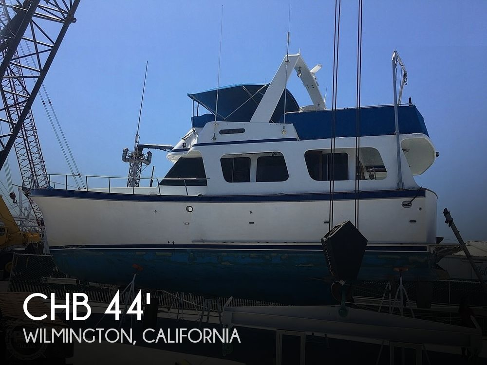 Used CHB Boats For Sale in California by owner | 1982 CHB Europa 45' Trawler
