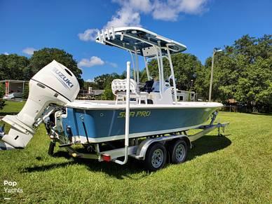 Sea Pro 228 DLX BAY, 228, for sale - $75,600